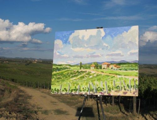Day 7 – A Bright Clear Painting Day in Tuscany