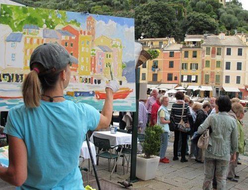Day 12 – Painting in Portofino!